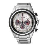 ขาย ซื้อ Citizen Eco Drive Super Titanium Chronograph Ca4241 55A Silver White Black Pvd ไทย