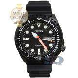 ซื้อ Citizen Promaster Automatic Rubber Strap Sport Watch รุ่น Nh8385 11E Black Black Pvd ถูก