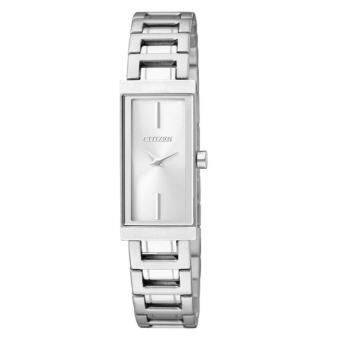 CITIZEN Quartz Lady Watch Stainless Strap รุ่น EZ6330-51A - Silver/White