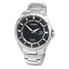 ซื้อ Citizen Watch Eco Drive Silver Titanium Case Titanium Bracelet Mens Aw1401 50E ออนไลน์