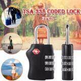 ราคา Ck14 Tsa กุญแจล็อกรหัส กุญแจกระเป๋าเดินทาง 2 ชิ้น ใหม่ ถูก