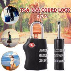 โปรโมชั่น Ck14 Tsa กุญแจล็อกรหัส กุญแจกระเป๋าเดินทาง 2 ชิ้น Ck14