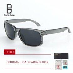 ส่วนลด Bruno Dunn Brand หนุ่มแว่นกันแดดโพลาไรซ์ ผู้หญิงผู้ชาย แว่นตา Vr46 9912 Grey Frame Grey Lense Intl จีน