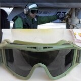 โปรโมชั่น Clear Green Motorcycle Bike Goggles Eyewear Sunglasses Eye Protection Fashion Intl ใน Thailand