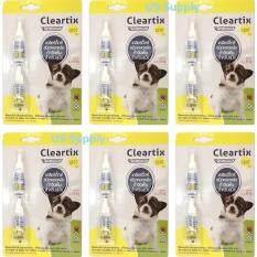 ราคา Cleartix สุนัข 1 10 กก 12 หลอด ยาหยดกำจัดเห็บหมัดสุนัข ใช้หยดหลัง มี อย ปลอดภัย Exp 02 2020 ส่งฟรี Kerry ใหม่ล่าสุด