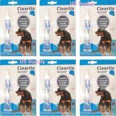 ขาย Cleartix สุนัข 10 20 กก 12 หลอด ยาหยดกำจัดเห็บหมัดสุนัข ใช้หยดหลัง มี อย ปลอดภัย ส่งเร็ว ส่งฟรี Kerry Exp 01 2021 Cleartix เป็นต้นฉบับ