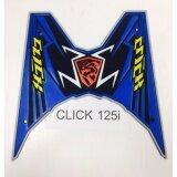 ทบทวน แผ่นยางวางเท้า Click125 I สีฟ้า ดำ Unbranded Generic