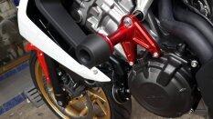 ราคา Aero Crash Protectors Cb650 Cbr650F Red กันล้มสำหรับ Cb650 Cbr650F สีแดง ออนไลน์ กรุงเทพมหานคร