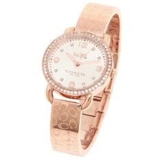 ขาย Coach Delancey Ladies Analog Watch Casual Rose Gold 14502355 ออนไลน์