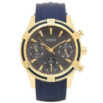 นาฬิกาผู้หญิง Guess Catalina Analog Blue Dial Ladies Watch W0562L2