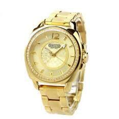 ราคา ราคาถูกที่สุด Coach Style Women S Gold Stainless Steel Watch