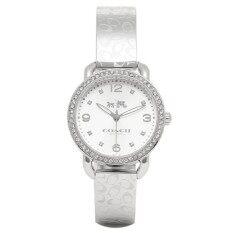 ทบทวน Coach Women S Delancey 28Mm Bangle Watch Silver Stainless Steel Watch 14502353