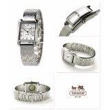 ราคา นาฬิกาข้อมือสุภาพสตรี Coach Womens 14502159 Page Signature Silver Stainless Bangle Watch ใหม่