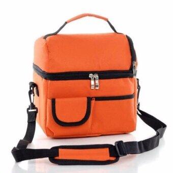 coco bag กระเป๋าสำหรับเก็บความเย็น (สีส้ม)
