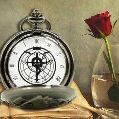 ราคา Cocotina อะนิเมะ Fullmetal Alchem Ist Edward กระเป๋านาฬิกากับสร้อยคอและแหวนเครื่องประดับชุดคอสเพลย์ ถูก