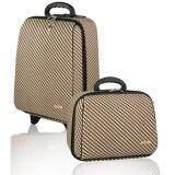 ราคา Colinna กระเป๋าเดินทาง เซ็ทคู่ 18 นิ้ว 14 นิ้ว รุ่น Classic Grid 86920 Brown Colinna Charm เป็นต้นฉบับ