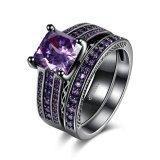 ราคา Combinations Of Rings Squares Blue Crystal Rings Ladies Lkn18Krgpr883 C 6 Intl ใหม่ล่าสุด