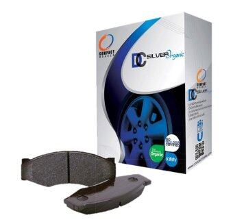 Compact Brakes ผ้าเบรคหน้าสำหรับ TOYOTA VIOS 1.5E ปี 2013