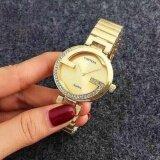 ส่วนลด Contena นาฬิกาข้อมือผู้หญิง รุ่น Wp8522 Gold แถมซองนาฬิกาสุดหรู ไทย