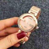 ซื้อ Contena นาฬิกาข้อมือผู้หญิง รุ่น Wp8522 Pink Gold แถมซองนาฬิกาสุดหรู Sevenlight ถูก