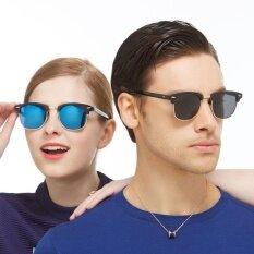 Cool And Fashionable Unisex Glasses Polarized Sunglasses Men Elegant Big Sun Glasses Eyewear Gifts - Intl.