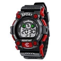 เย็นสมบัติกันน้ำคืนแสงของนักเรียนนาฬิกามัลติฟังก์ชั่นเรียกใช้วินาทีนักเรียนนาฬิกา - นานาชาติ By Star Store.