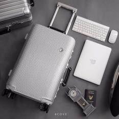 ราคา Cove Luggage กระเป๋าเดินทางล้อลากขนาด 20 นิ้ว รุ่น Sapphire Series Gentry Grey ถูก