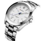 ขาย Curren นาฬิกาข้อมือสุภาพบุรุษ สายสแตนเลส รุ่น C8109 Silver White Curren