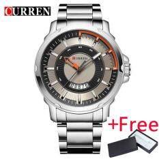 Curren Luxury Brand Analog Sports Wristwatch นาฬิกาข้อมือ Display Date Men S Quartz Watch นาฬิกาข้อมือ Business Watch นาฬิกาข้อมือ Men Watch นาฬิกาข้อมือ 8229 จีน