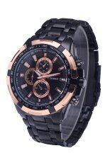 ขาย Curren ผู้ชายสีดำรัดนาฬิกาสเตนเลส 8023 Curren เป็นต้นฉบับ