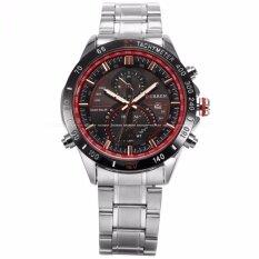 ขาย Curren Men S Stylish Date Display Silver Stainless Steel Band Sport Quartz Wrist Watch Cur041 นาฬิกาข้อมือผู้ชาย สายสแตนเลส รุ่น Intl Thailand