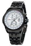 ซื้อ Curren นาฬิกาข้อมือสุภาพบุรุษ สีดำ หน้าปัดสีขาว สายสแตนเลส รุ่น C8082 ถูก ใน ไทย