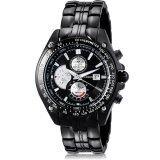 ส่วนลด สินค้า Curren นาฬิกาข้อมือสุภาพบุรุษ สีดำ สายสแตนเลส รุ่น C8083