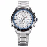 ขาย Curren New Fashion Design Men S White Blue Date Display Sport Steel Band Quartz Wrist Watch Cur040 นาฬิกาข้อมือผู้ชาย สายสแตนเลส รุ่น Intl ออนไลน์ ใน จีน
