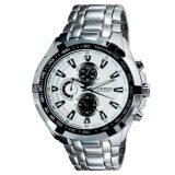 ส่วนลด Curren Stainless Steel Band Sport Analog Quartz Wrist Watch White Curren