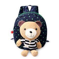 ขาย Cute Baby Backpack Bag Canvas Shoulder Bag Deep Blue จีน ถูก