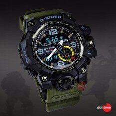 ราคา ฟรีกล่องเซ็ต D Ziner Dz05Blgr Waterproof Watch ออนไลน์ Thailand