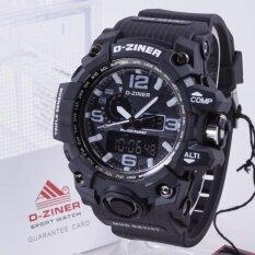 ขาย D Ziner นาฬิกาทรงสปอร์ต รุ่น Dz8119 ออนไลน์ ใน กรุงเทพมหานคร