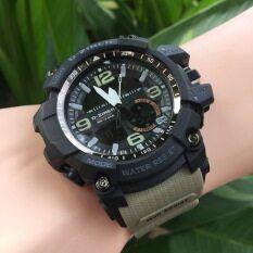 ส่วนลด D Ziner นาฬิกาข้อมือ รุ่น Dz8143 สายเขียวขี้ม้าอ่อน