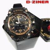 ขาย D Ziner นาฬิกาข้อมือแนว Sport ชาย 2 ระบบ Analog Digital แท้ กันน้ำ 100 ถูก