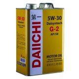 ซื้อ Daiichi น้ำมันเครื่องสังเคราะ 100 Daisyntech G 2 5W30 Api Sn 4 ลิตร คุณภาพเพื่อคนยุคใหม่ ออนไลน์ กรุงเทพมหานคร
