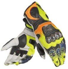 โปรโมชั่น Dan C Vr46 Motorcycle Racing Gloves Gloves Racing Colorful Full Carbon Fiber Titanium Long Gloves Color Yellow Size M Intl Unbranded Generic