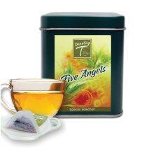 ทบทวน Dazzling T ชาสมุนไพร 5 นางฟ้า 5 Angels Mixed Herbal Tea