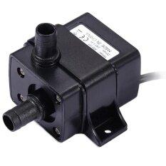 ขาย ซื้อ Dc 12 โวลต์ Waterproof Cooling Brushless ปั๊มน้ำ สีดำ จีน
