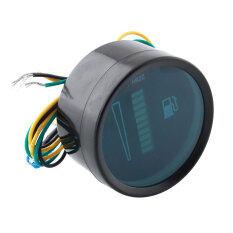 ราคา Dc12V 2 52Mm Display 12V System Fuel Level Gauge For Car Motor Motorcycle Intl เป็นต้นฉบับ