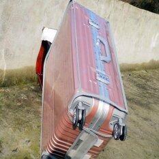 Dc168พลาสติกใสคลุมกระเป๋าเดินทาง 20 นิ้ว กันเปื้อน กันริ้วรอยและกันน้ำ Pvc Cover .