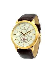 ขาย Debor นาฬิกาข้อมือผู้ชาย สีน้ำตาล สายหนัง