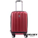 ราคา Delsey กระเป๋าเดินทางแบบล้อลาก รุ่น Helium Aero ขนาด 21 นิ้ว สีแดง ที่สุด