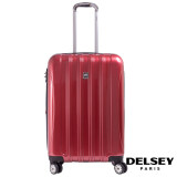 ราคา Delsey Helium Aero กระเป๋าเดินทาง ขนาด 25 นิ้ว 69 Cm ล้อลาก 4 ล้อ Red Delsey เป็นต้นฉบับ