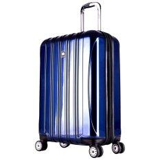 ราคา Delsey Helium Aero กระเป๋าเดินทาง ขนาด 28 นิ้ว 81 Cm ล้อลาก 4 ล้อ Blue ออนไลน์ ไทย